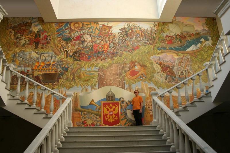 Чем привлекательна настенная роспись