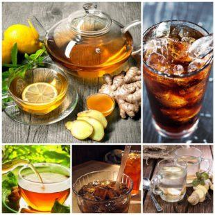 Диетический чай и газировка, есть ли разница