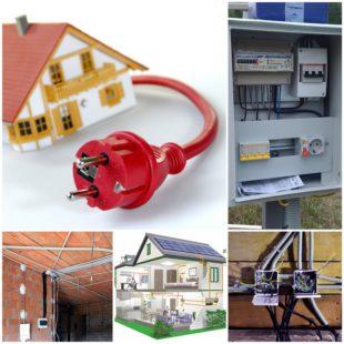 Электромонтажные работы в загородных домах и коттеджах