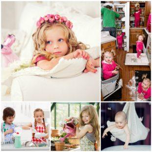 Фотосессия детей дома - советы профессионала