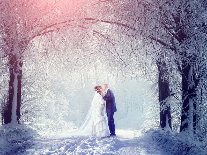 Фотосъёмка со снегом