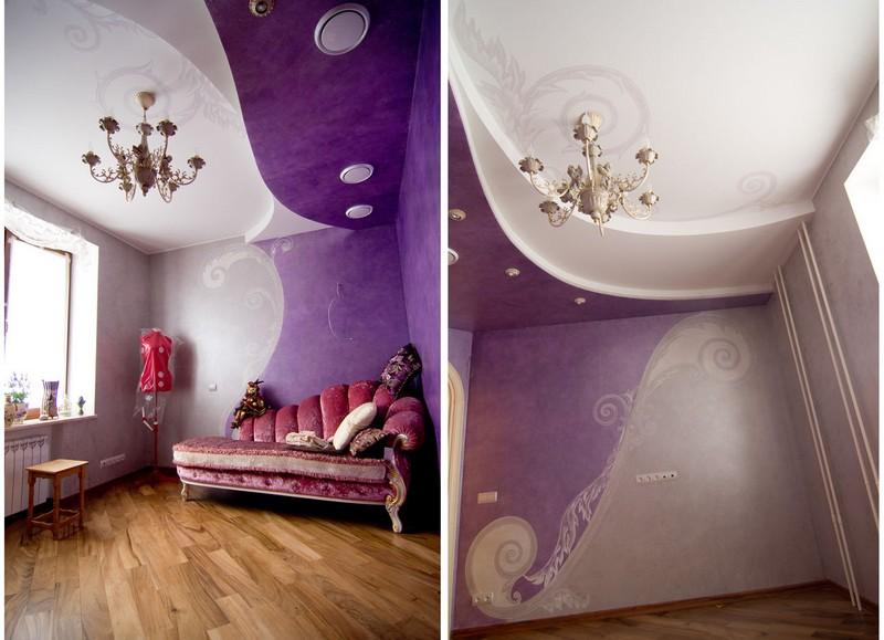 Фреска - популярный вид росписи стен