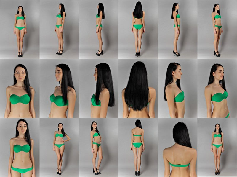 Модели в полный рост в одежде