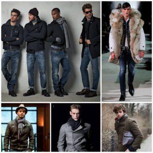 Мужская мода и городской стиль в холодное время года