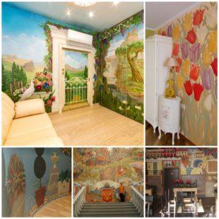 Настенная роспись - преображение любого помещения