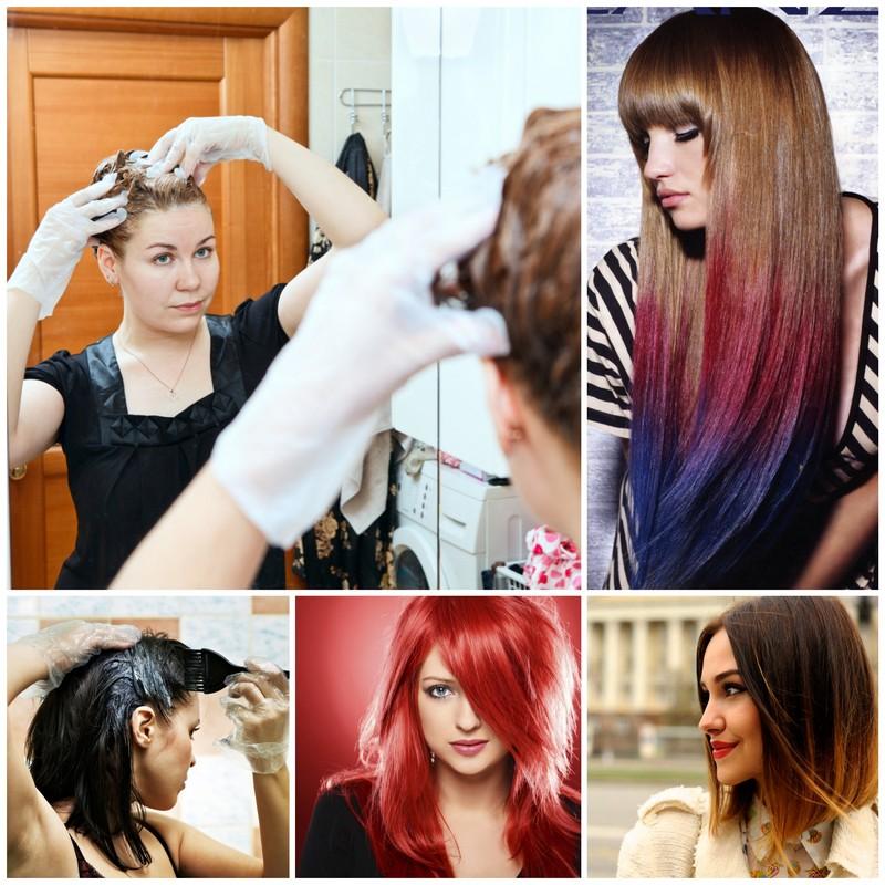 Как красить длинные волосы в домашних условиях 41
