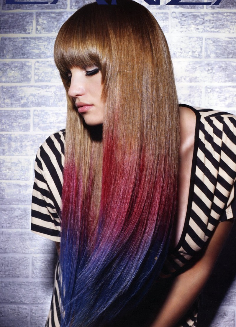 Окрашивание волос в темные тона в дом условиях
