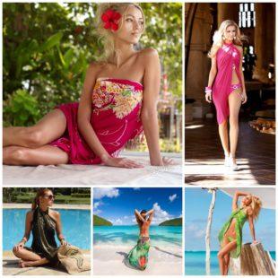 Парео - самый практичный пляжный женский аксессуар