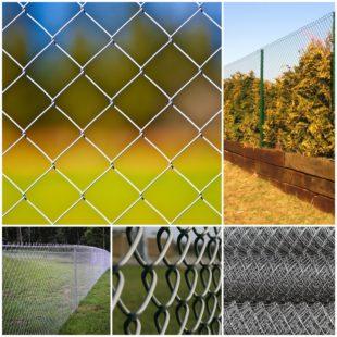 Плетеная сетка рабица: сферы применения и особенности выбора