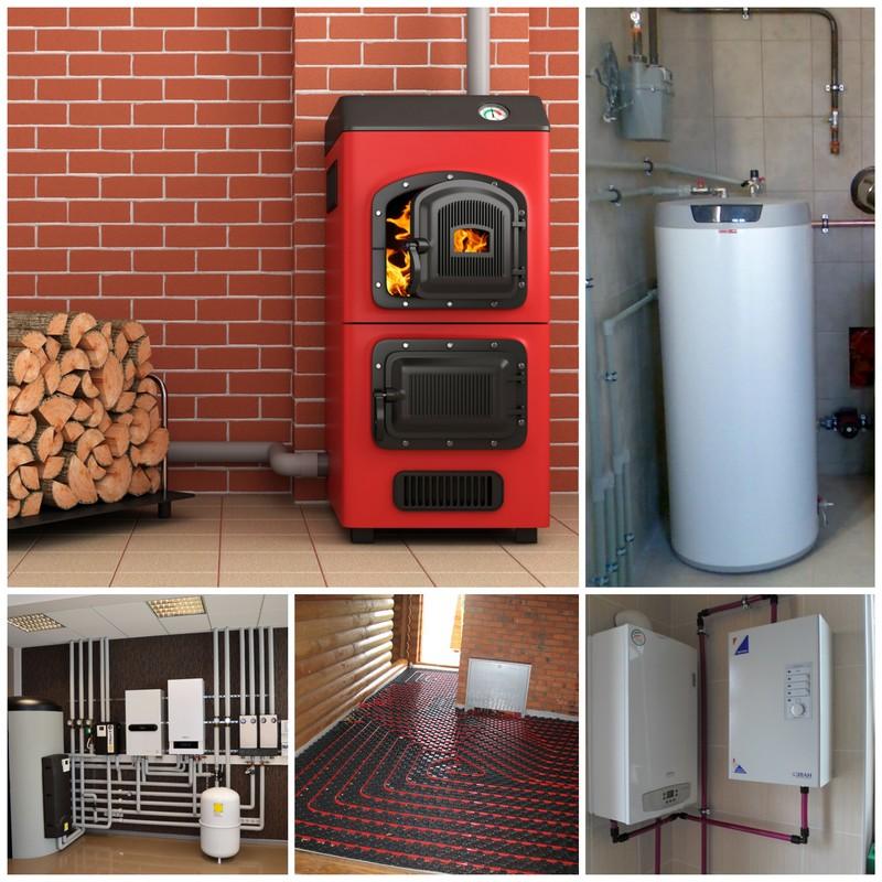 Типы отопления в современных частных домах