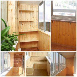 Вагонка - как с её помощью преобразить и утеплить балкон?