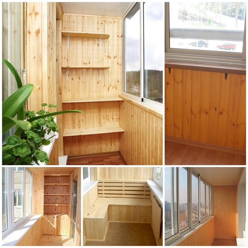 Вагонка - как с её помощью преобразить и утеплить балкон?.