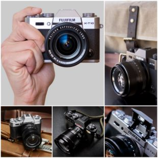Беззеркальный фотоаппарат со сменной оптикой Fujifilm X-T10