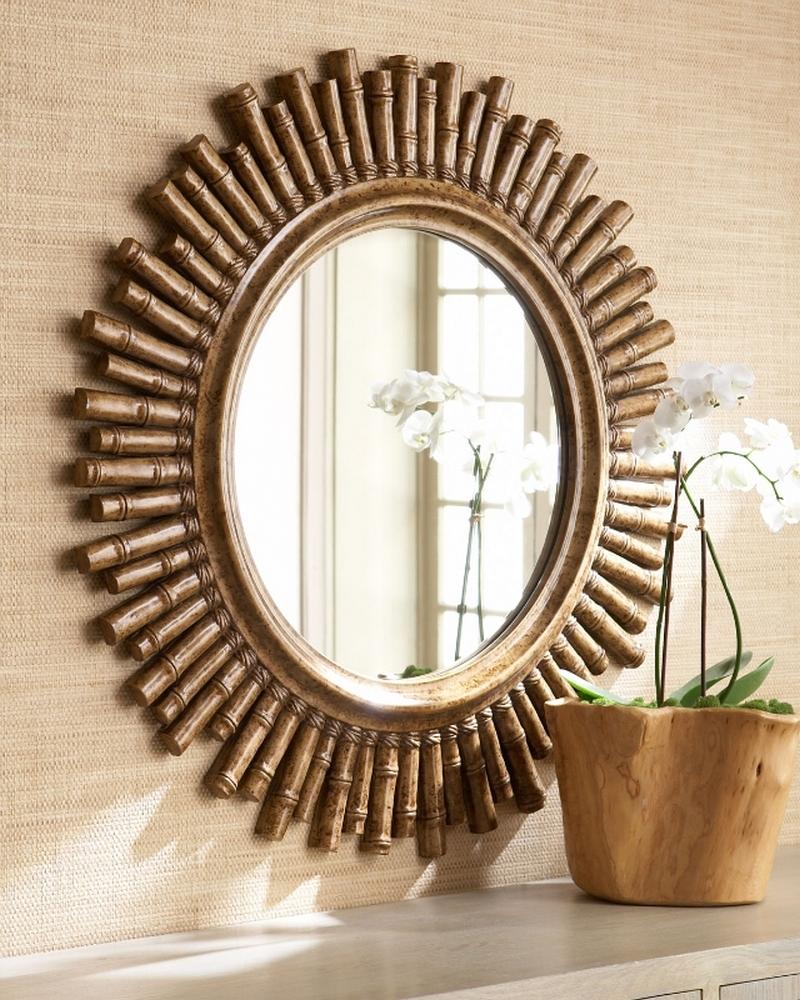 Использование зеркал в интерьере гостиной для расширения пространства