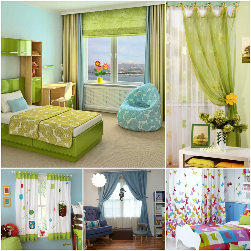 Выбираем шторы в детскую комнату. Советы для взрослых