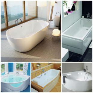 Акриловые ванны - их преимущества и недостатки