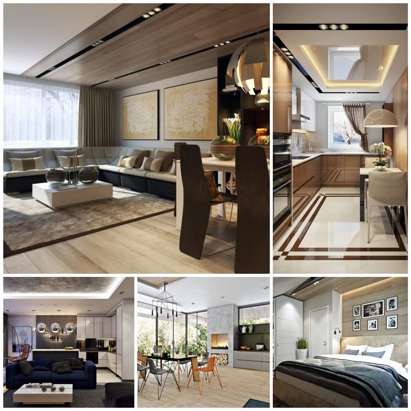Дизайн квартиры в современном стиле - основные тренды