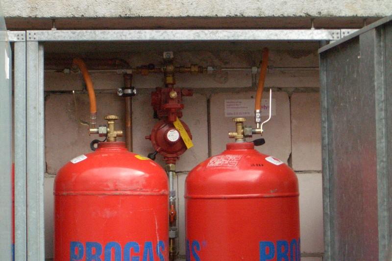 Как установить газ на даче своими руками 22
