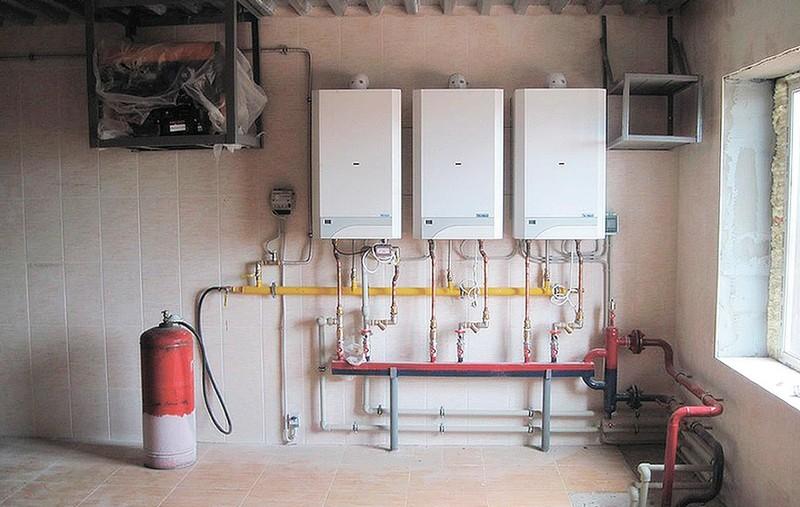 Газовое и водяное отопление частного дома своими руками