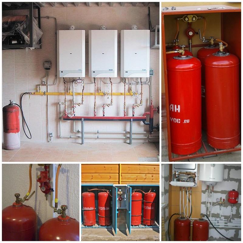 Отопление сжиженным газом - создай свой автономный дом