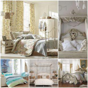 Стиль шебби шик в интерьере вашей спальной комнаты