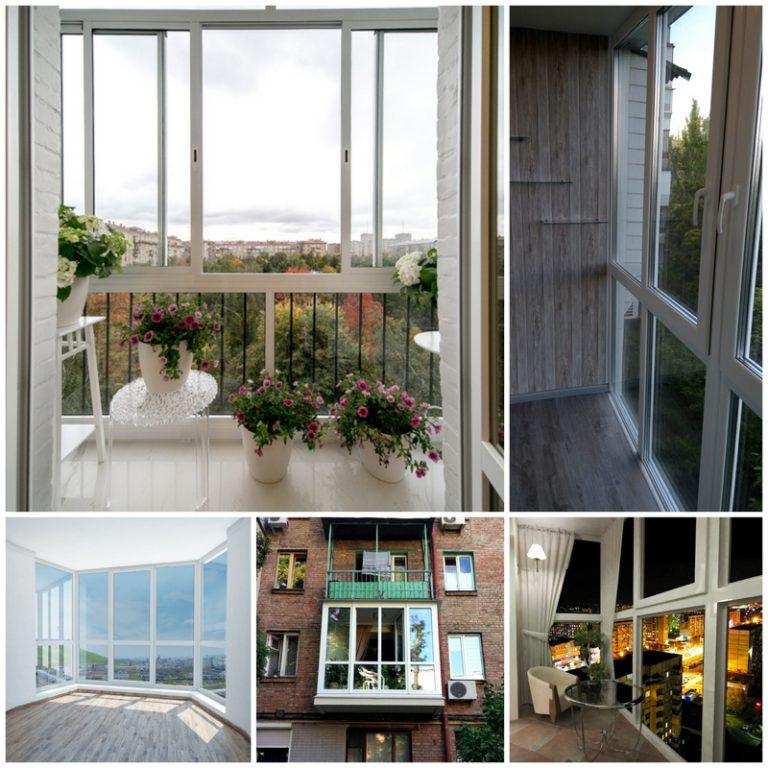 Французский балкон - эффектное и функциональное решение.
