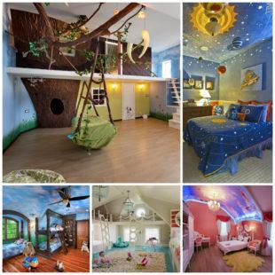Как сделать классный дизайн детской комнаты