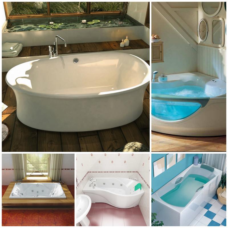 Какая акриловая ванна считается идеальной