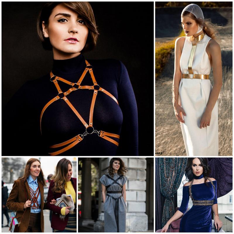 Женская портупея - модный аксессуар из средневековья