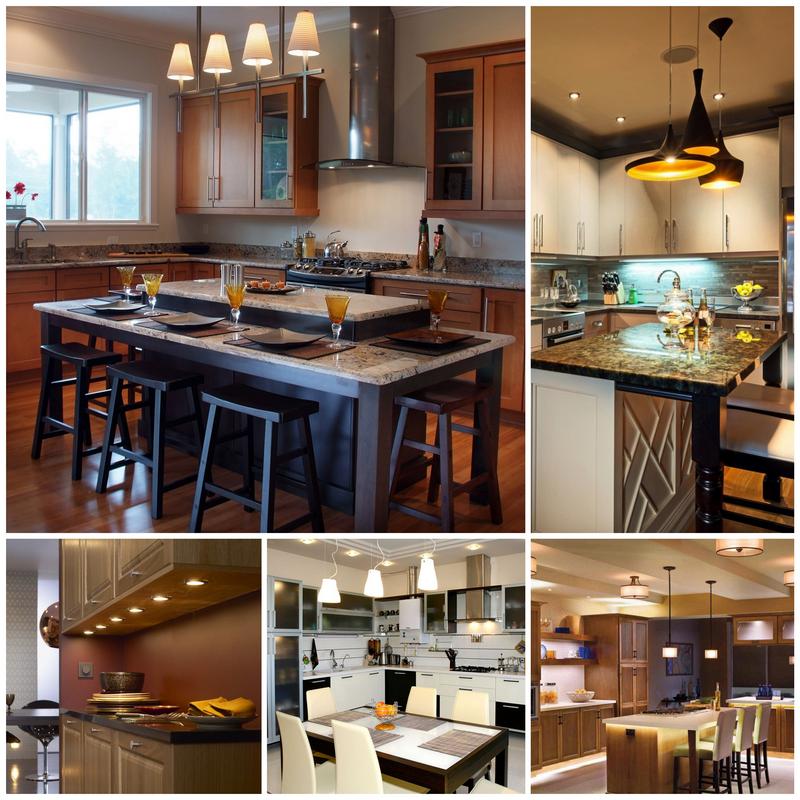 Как правильно продумать освещение на кухне