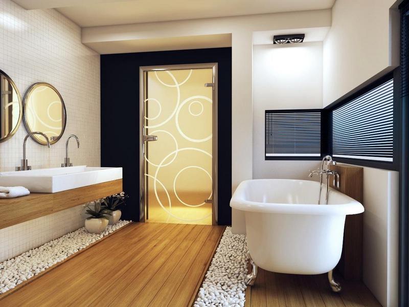 Как обновить дверь в ванную комнату фото