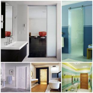 Как выбрать двери в ванную комнату 9