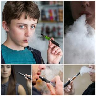 Мода на курение электронных сигарет среди подростков
