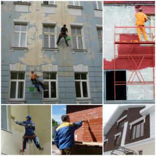 помощник в осуществлении фасадных и строительных работ