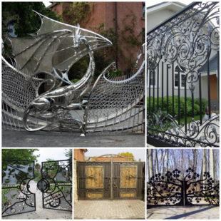 Как выбрать кованые ворота?
