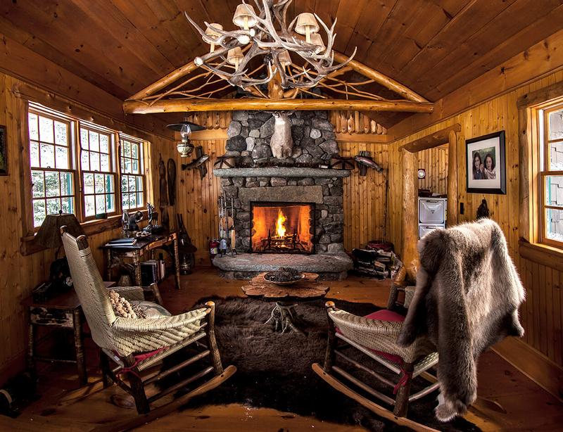 Охотничий домик - гармоничная целостность стиля 8