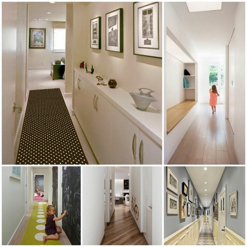 Идеи для интерьера узкого коридора фото