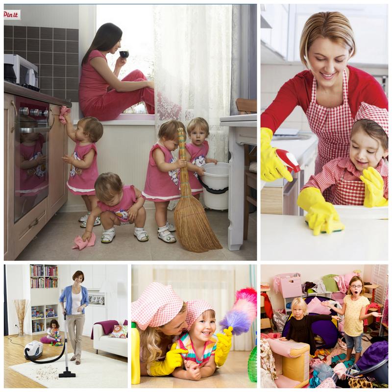 Как привить ребёнку любовь к уборке и чистоте?