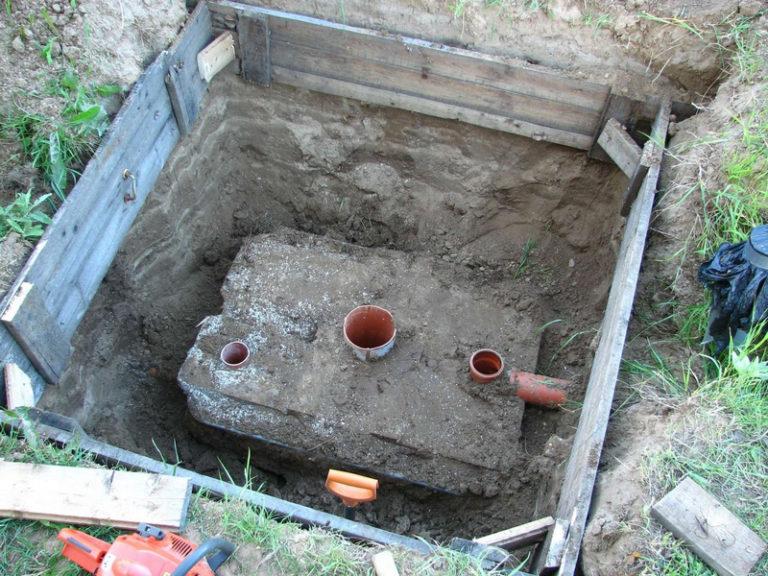 Как сделать сливную яму в частном доме своими руками без откачки в глине