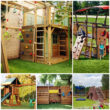 Строительство детской площадки идеи для загородного дома