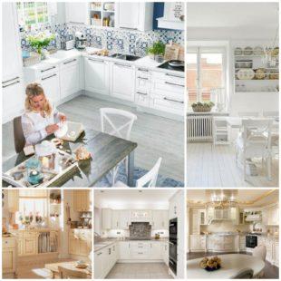 Классическая кухня в светлых тонах: плюсы выбора