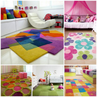 Выбор ковра для детской комнаты