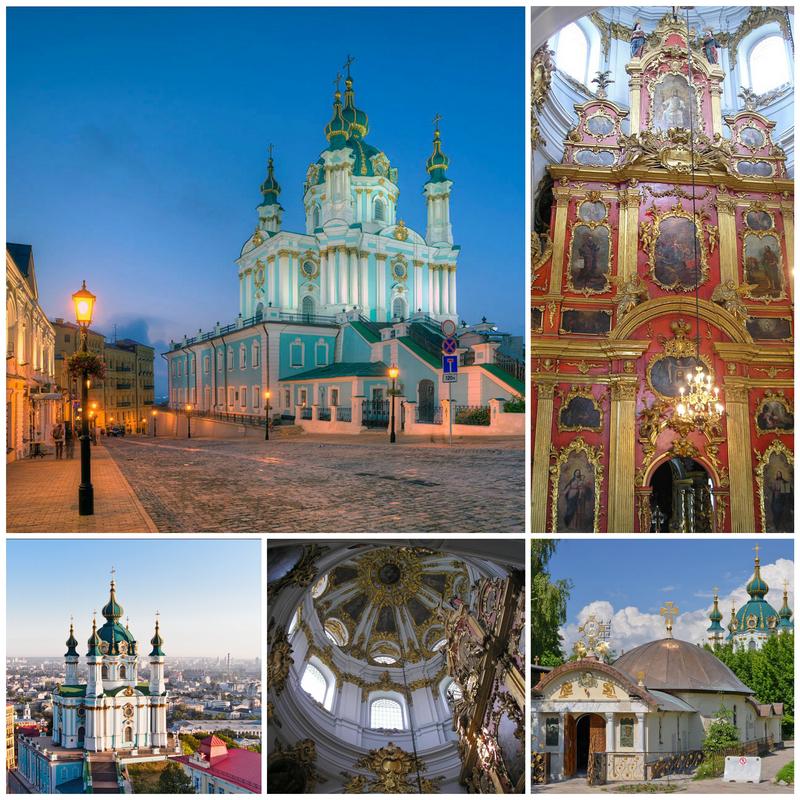 Андреевская церковь – шедевр архитектурного стиля барокко
