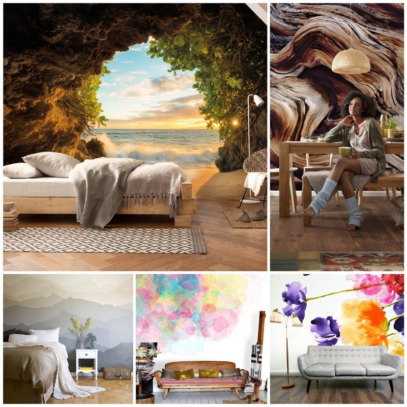 Фотообои на стену. Какие виды фотообоев лучше выбрать для украшения интерьера?