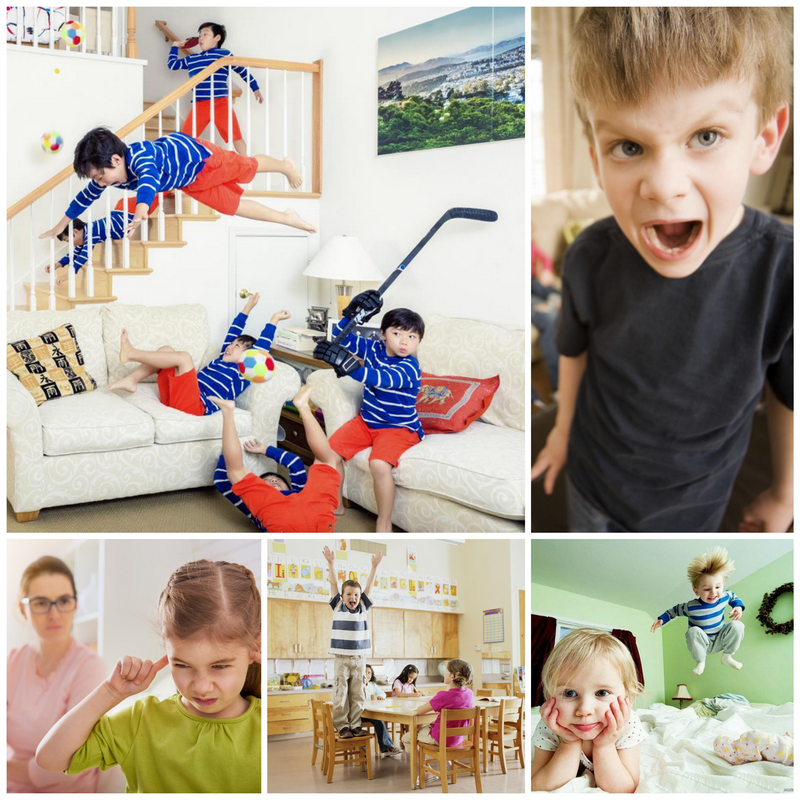 Гиперактивный ребенок, что делать родителям