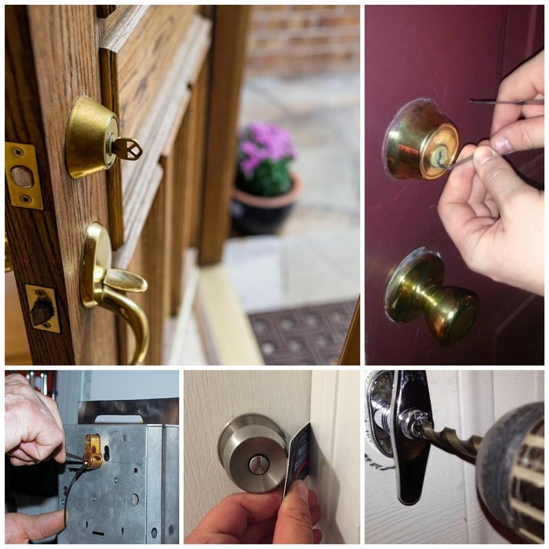 Как открыть замок входной двери своими руками: народные методы