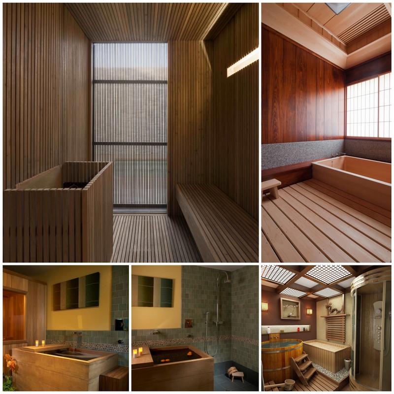 Оформление бани в японском стиле- практичный минимализм