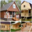 Постройка дачного дома - варианты современных проектов