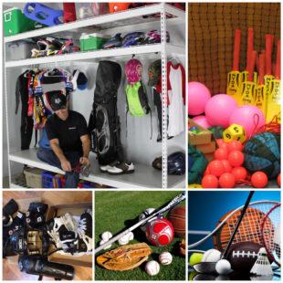 Спортивный инвентарь для различных видов спорта