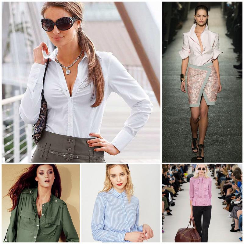 Блузы и рубашки - основа базового гардероба